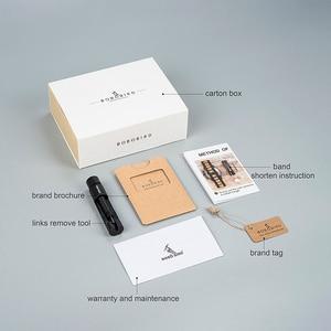 Image 5 - BOBO BIRD drewniany zegarek kobiety Relogio Feminino luksusowa bransoletka z drobnym drewnianym paskiem zegarki kwarcowe V M19