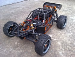 RC 1/6 Baja 5b Electric Car