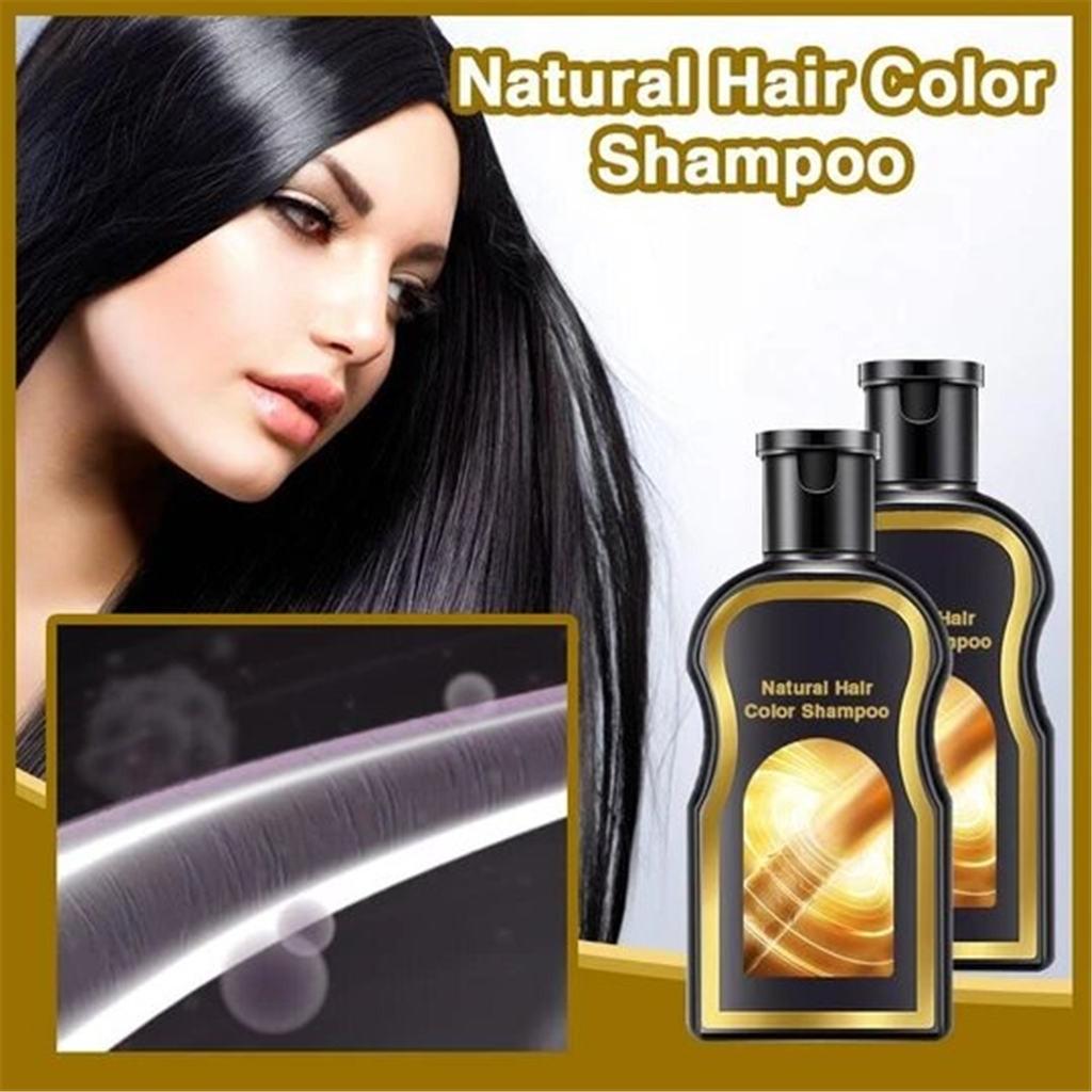 Hair Shampoo Permanent Black Color Anti Gray Hair Treatment White Removal Natural Herbal Black Hair Shampoo Grey Reverse 200ml|Hair Color Mixing Bowls|   - AliExpress