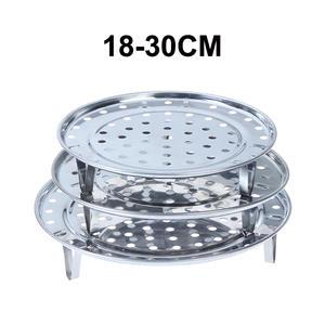 Steamer-Rack Cookware-Tool Stainless-Steel 18-30CM Pot Insert-Stock
