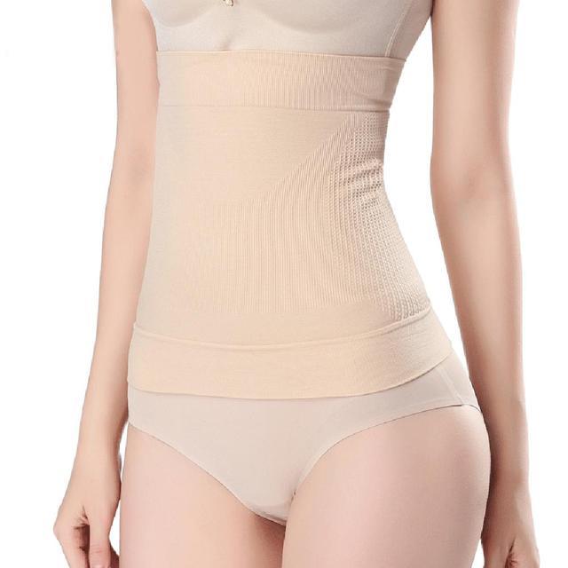 Women Body Shaper Corset Tummy Trimmer Waist Trainer Shapewear Girdle Belt Seamless Breathable Slimming Body Shaper