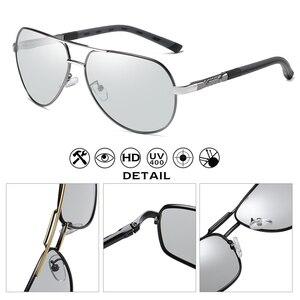 Image 3 - ファッションデザインパイロットサングラス男性偏光安全運転メガネフォトクロミック女性男性ドライバーの眼鏡 gafas デ · ソル hombre