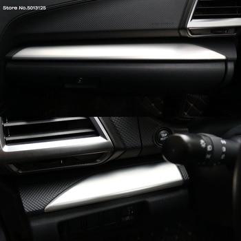 Car Central Console Co-pilot Trim For Subaru Forester 2019 2020 Interior Kits Copilot Passenger Side Panel Decoration