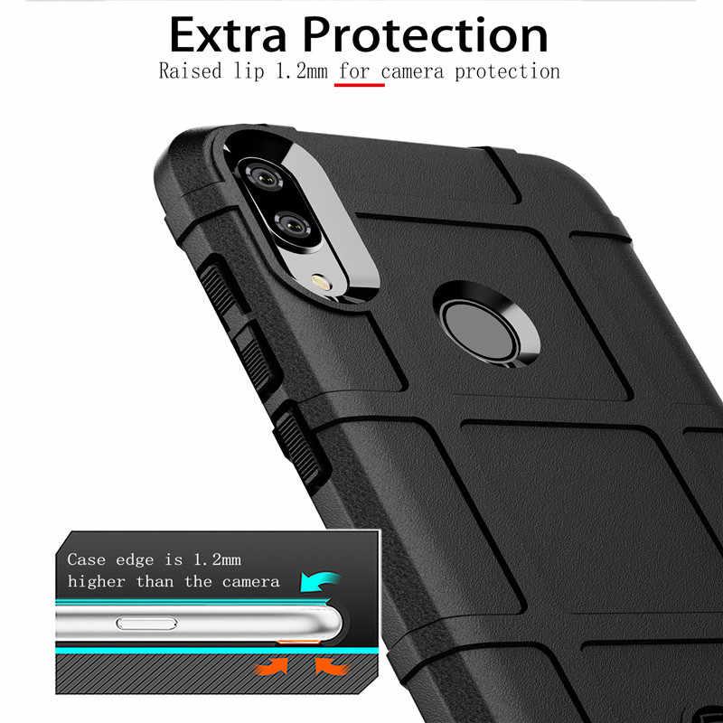 Прочная защита защитный чехол для huawei P Smart Z P Smart + Y5 Y6 Y7 Y9 Prime Y7 Pro enjoy 9S 9E Maimang 8 противоударный чехол из ТПУ