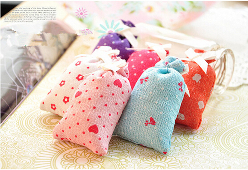 Mini Natural Incense Fragrance Sachet Sticks Flower Petal Jasmine Floral Air Purification Home Decoration Send Random