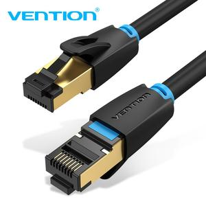 Vention Cat8 Ethernet Cable RJ 45 Network Cable FTP Lan Cable Cat 8 RJ45 Patch Cord 10m/20m/30m for Router Laptop Cable Ethernet(China)