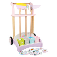 4-6 Children's Sweeping Toys Cleaning Set Tool Cart Simulation Play House Cleaning Toys Dollhouse Miniature  1:6 Doll Furniture