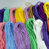 10Yards 3/4MM DIY Mask Elastic Rope Rubber Band Mask Oil Cord Mask Ear Hanging Rope Belt For DIY Protective Clothing Accessories