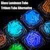 Glass Luminous Stick Tritium Tube Alternative Fingertip Gyro EDC Fluorescent Glowing Rod DIY Accessories Outdoor Signal Light