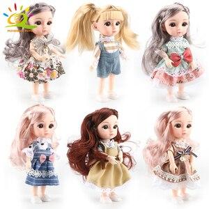 Кукла для девочек 5,9 дюйма bjd Boneca, кукла, нормальный/шарнирный шар, шарнирная Кукла Reborn, игрушки с одеждой, обувью, подарок для девочек