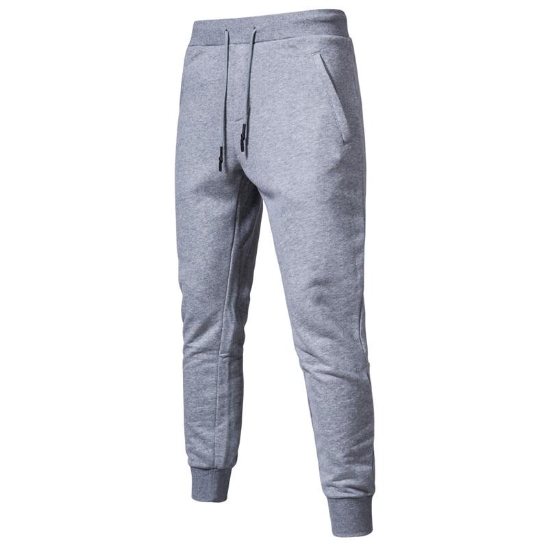 2020 New Spring Cotton Joggers Men Quality Sport Sweatpants Men Running Tracksuit Mens Track Pants  Streetwear Mens Pants