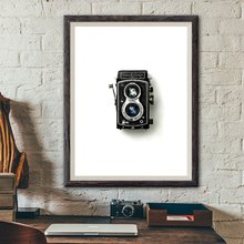 Винтажные плакаты с камерой и принтом подарок для влюбленных