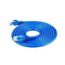 1/2/3/5/10/15/20m de alta velocidade rj45 ethernet cabo de rede cabo lan internet cabo de rede cabo de cabo linha de fio azul rj 45 lan cat5