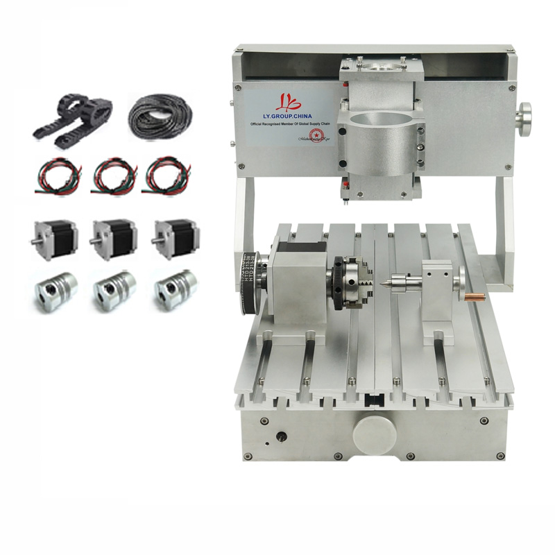 Mini 3020 Precision CNC Frame Of Milling Machine Diy Lather Bed Aluminum Rail With Ball Screw