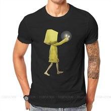 Magliette a vita bassa sei essenziali piccoli incubi Horror Adventure Game Nomes uomo Graphic Fabric Streetwear T Shirt girocollo