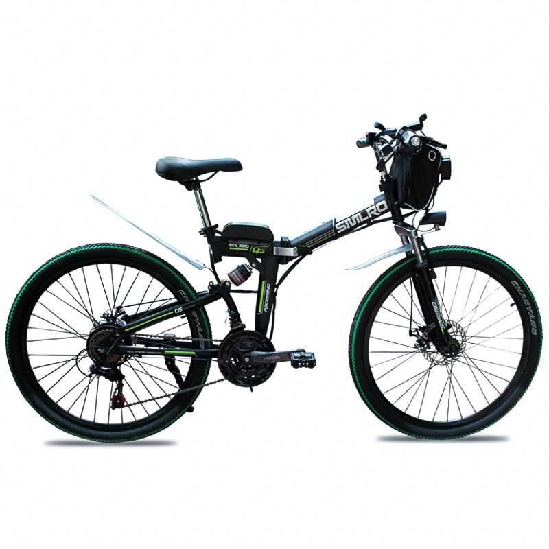 Canvas Battery Bag e bike 26 inch 350W Lithium Battery   Folding  Electric Bicycle E Bike 2