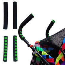 Baby Stroller Handle Cover Push Tube Cart Sleeve EVA Foam Covers Armrest Soft Protector Grips Accessories