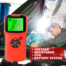 Analyzer Battery Car-Battery-Charger-Tester Diagnosis Test-Charge Voltage Automatic 12V
