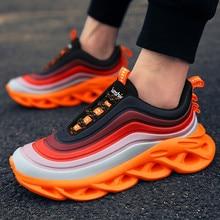 בן נעליים נמוכה נעלי תוספות צבעוני נעליים יומיומיות זכר פנאי Sneaker גברים ספורט נעלי Ligthweight גברים של אופנה נעלי ספורט