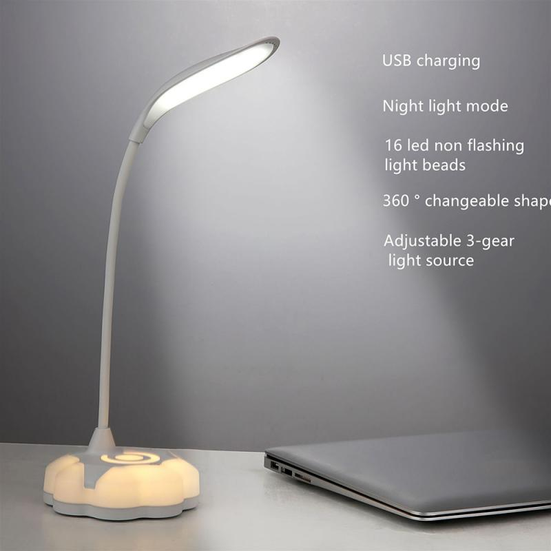 estudo lâmpadas regulável dobrável luz iluminação interior