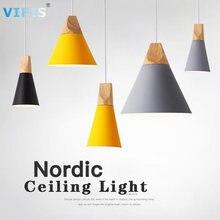 Скандинавский светодиодный потолочный светильник для спальни