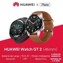 Глобальная версия часов HUAWEI GT 2 GT2 GPS 42/46 мм 14 дней телефонного звонка водонепроницаемый дисплей сердечного ритма