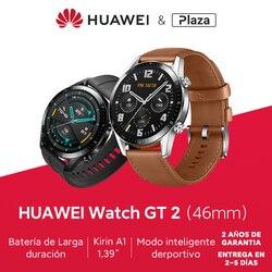 versión global HUAWEI Watch GT 2 GT2 GPS de 42/46mm 14 días llamada telefónica a prueba de agua Monitor de ritmo cardíaco