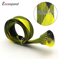 Exceepand Casting Fishing Rod Cover  Free Easy to Use Fishing Rod Cover Pole Jacket Sock