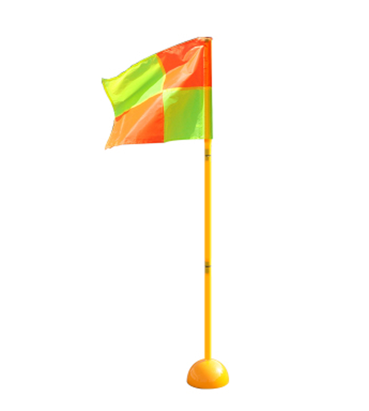 New Obstacle Marker Pole A Set Water Injection Base+ Football Door Pole+ Flag Training Equipment Sign  Rod Top Quality