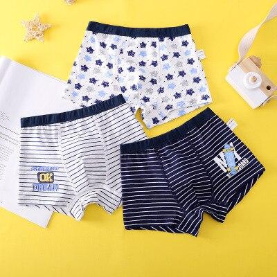 VIDMID new Baby kids  Boys Panties Cotton Underwear Boxer Underpants for boys Cartoon Children's Underwear Clothing 7130 04 3