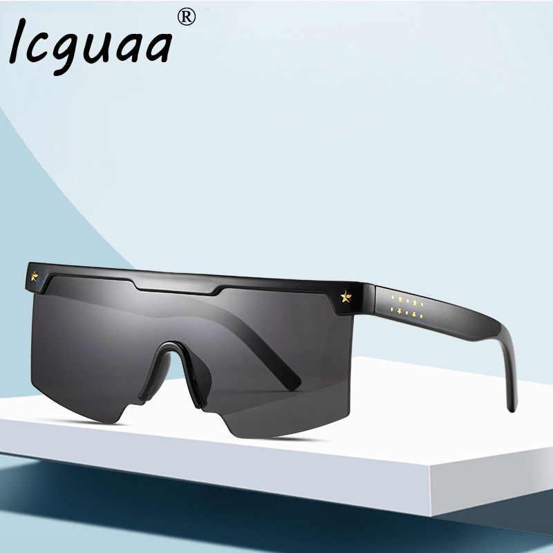 Shield Visor Sunglasses Women Men 2019 One piece Oversized