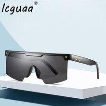 Shield Visor Sunglasses Women Men 2019 One piece Oversized W