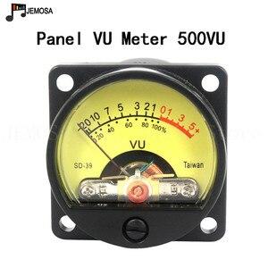 Image 5 - 2 ADET Paneli VU Metre 500VU Sıcak Arka Işık Ses Seviyesi Ölçer Amplifikatör Gösterir Ve 1 ADET Dayanıklı VU sürücü panosu ücretsiz Kargo