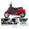 Чехол для ног мотоцикла для универсальных скутеров  защита для ног мотоцикла от дождя  ветра и холода