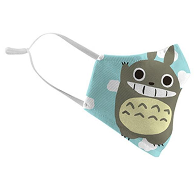 Pokemon Pikachu Tonari no Totoro Cosplay Face Mask Dustproof Adult Kids Masks 4