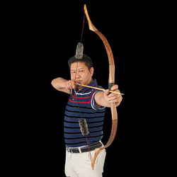 Toparchery 30-50Ibs łuk do polowań tradycyjny łuk sportowe strzelanie Longbow Sport tarcza do łucznictwa na świeżym powietrzu