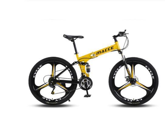 21/24/27 Speed Mountain Bike 26 * 4.0 Fat Tire Bikes Shock Absorbers Bicycle Double disc brakes Folding Bike Snow beach bicycle