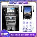 Автомагнитола 2 DIN, Android, GPS-навигация для infiniti Q60 2004 2005 2006 2007-2013, автомобильная стереосистема, DVD, мультимедийный плеер, Авторадио