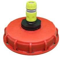 Пластиковый ibc бак крышка бункер адаптер с водой коннектор