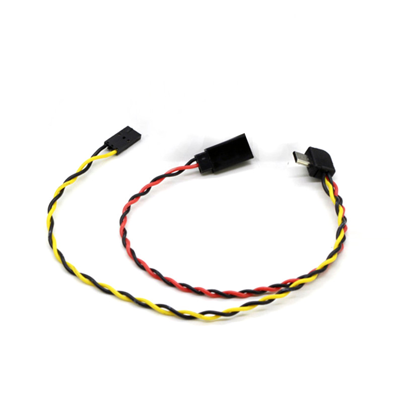 Micro USB to AV Out Cable for SJ4000 SJ5000 SJ6000 GOPRO Camera FPV Video Audio Transmitter Cable AV for RC FPV Drone(China)