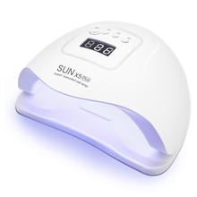 SUN X5 Plus UV LED lampa do paznokci suszarka lampa do paznokci na żel do Manicure światło suszenie lampy do wszystkich rodzajów żel polski