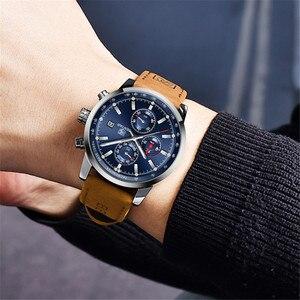 Image 5 - BENYAR 2020 New Blue Men Watches Top Brand Luxury Waterproof Sport Quartz Chronograph Military Watch Men Clock Relogio Masculino