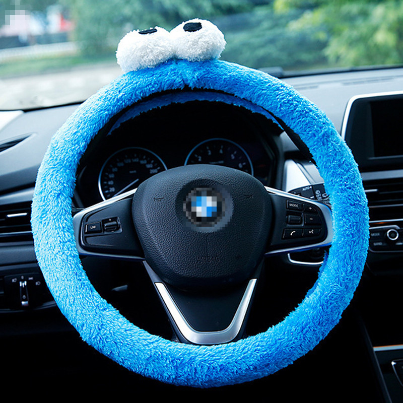 Universal <font><b>car</b></font> steering <font><b>wheel</b></font> <font><b>cover</b></font> <font><b>car</b></font> <font><b>covers</b></font> skin holder case odorless steering protector <font><b>car</b></font> accessories <font><b>women</b></font> 38cm image