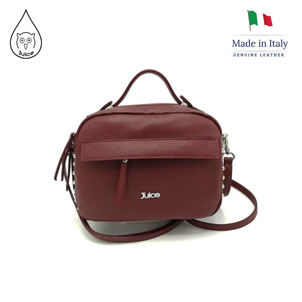 Juice Brand, Genuine Leather Bag Made In Italy, Handbag 077.412