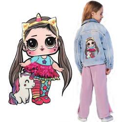 Мультяшные нашивки женские модные куклы лол для девочек Милая Модная Кукла-мальчик вышивка на одежду ручная работа украшение одежды