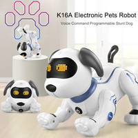 LE NENG TOYS K16A Electronic Animal Pets Robot Dog Voice Remote Control Toys Music Song Toy for Kids Toys Birthday Gift