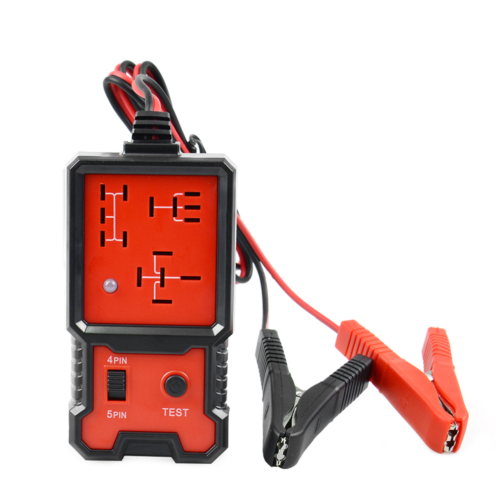 2019 Universal 12V Cars Relay Tester Relay Testing Tool Auto Battery Checker Accurate Diagnostic Tool Portable Automotive Parts
