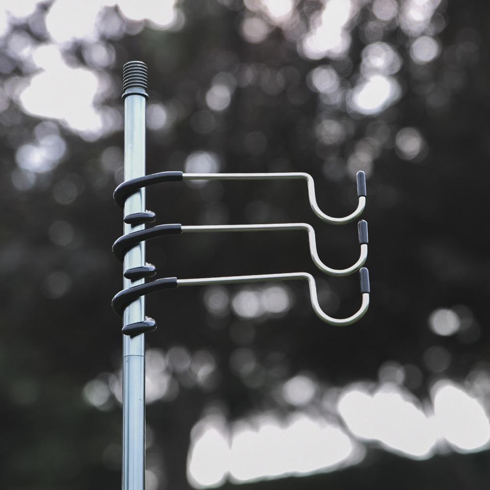 Открытый Портативный палаточный столб пост Алюминий сплав лампа держатель крюка охота и Рыбалка крюк для фонаря Pesca Iscas туристическое снаря...