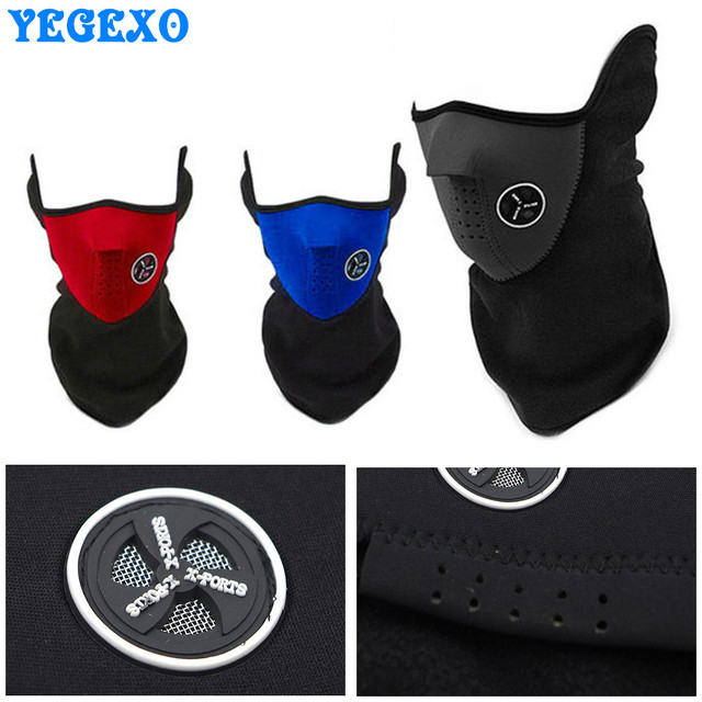Motorcycle Face Mask Winter Windproof For suzuki gs 500 c50 boulevard bandit 650 sv1000 sv 650s burgman 400 katana gsx600f