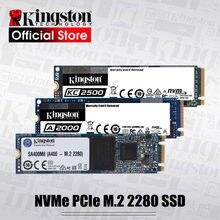 Kingston NVMe SSD PCIe M.2 2280 250G 500G 1 ТБ Внутренний твердотельный накопитель 120G 240G 480G жесткий диск для ноутбука Тетрадь Настольный M2